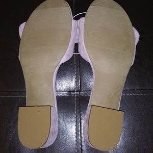 a new day Shoes - Lilac lavender light purple mules by a new day NWT